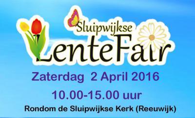 In Sluipwijk is er jaarlijks op een zaterdag in april de Lentefair, met van alles te doen voor jong en ouder.