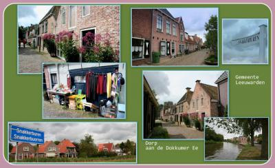 Snakkerburen, collage van buurtschapsgezichten (© Jan Dijkstra, Houten)