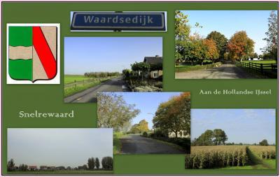 Snelrewaard, collage van buurtschapsgezichten (© Jan Dijkstra, Houten)