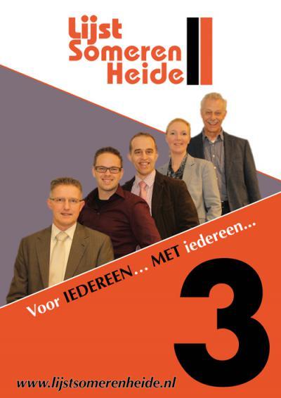 Someren-Heide heeft voor zo'n klein dorp best veel voorzieningen. Ze hebben zelfs een eigen politieke partij.