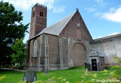 Sommelsdijk, Mariakerk, achterzijde