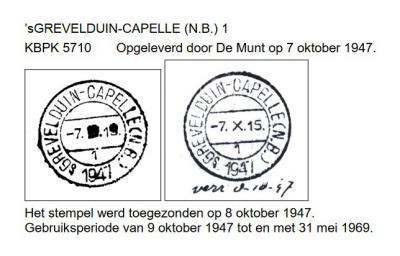 Dorp en gemeente Capelle zijn ontstaan uit de ambachtsheerlijkheden Nederveen-Capelle, Zuidewijn-Capelle en 's-Grevelduin-Capelle. Laatstgenoemde was de belangrijkste kern en is daarom tot 1970 de dorpsnaam geweest, blijkend uit o.a. de poststempels.
