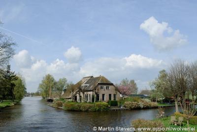 Steenwijkerland, verbouwde boerderij in de Weerribben-Wieden, het is hier mooi wonen.
