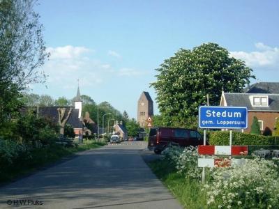 Stedum is een dorp in de provincie Groningen, in de streek Hoogeland, gemeente Loppersum. Het was een zelfstandige gemeente t/m 1989.