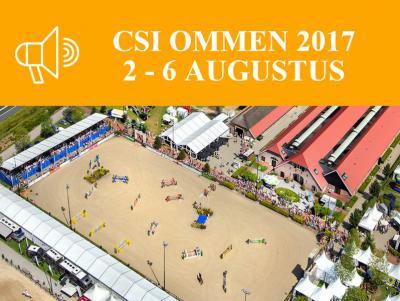 Gedurende vijf dagen begin augustus zijn er altijd bijna net zoveel paarden (400) als inwoners (ruim 500) in de buurtschap Stegeren bij Ommen, tijdens het evenement CSI Ommen. Lees daar alles over onder het kopje Jaarlijkse evenementen.