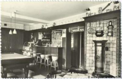 Stevensweert Cafe Res.t 't Centrum 1966