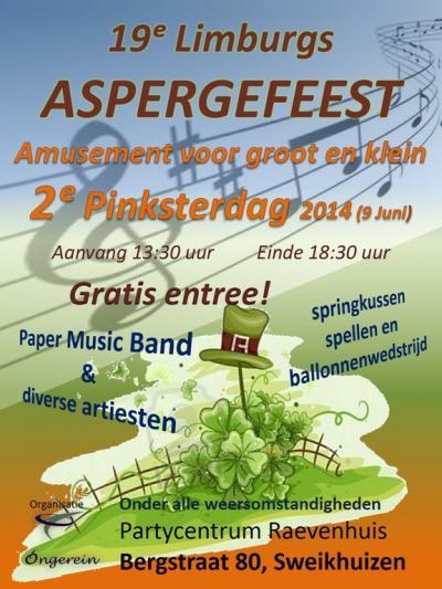 Een van de jaarlijkse evenementen in Sweikhuizen is het Limburgs Aspergefeest.