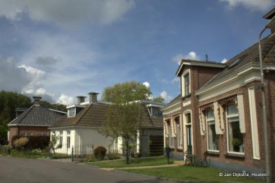 Het dorp Swichum onder de rook van Leeuwarden.