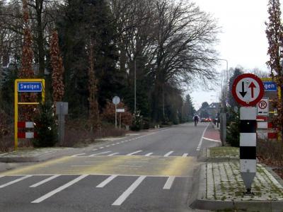 Het dorp Swolgen valt sinds 2010 onder de gemeente Horst aan de Maas. Voorheen viel het onder de in dat jaar opgeheven gemeente Meerlo-Wanssum. (© H.W. Fluks)