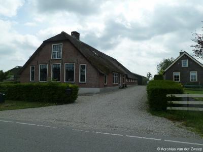 Een van de rijksmonumentale panden in buurtschap Teckop is de langhuisboerderij uit 1814 op huisnr. 20