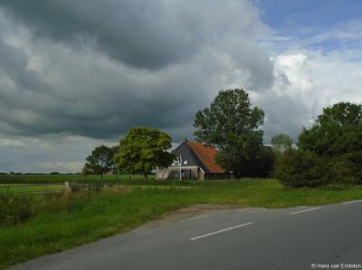 Buurtschap Teetlum, boerderij Dijksgat op Wommelseweg 85