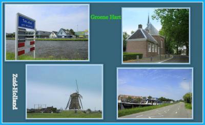 Ter Aar, collage van dorpsgezichten (© Jan Dijkstra, Houten)