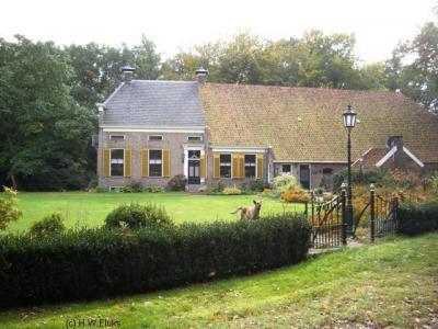 Een van de rijksmonumentale boerderijen in buurtschap Ter Borg