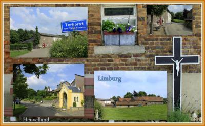 Terhorst, collage van buurtschapsgezichten (© Jan Dijkstra, Houten)
