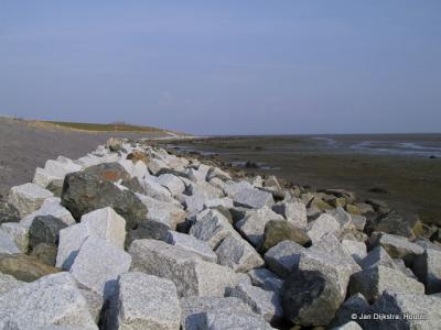 De Waddenzeekust op Terschelling.