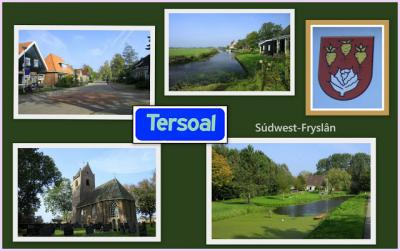 Tersoal, collage van dorpsgezichten (© Jan Dijkstra, Houten)