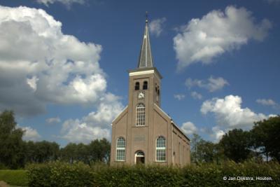 De Hervormde kerk van Terwispel in het zonnetje anno 2014.