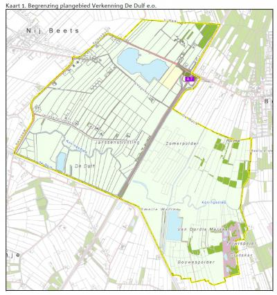 Het 1.300 ha grote gebied De Dulf/Mersken, N van Terwispel. In 2015 is hier een 'beekpassage' aangelegd in het Alddjip of Koningsdiep, onder de A7 door, waardoor dieren tussen beide kanten van de A7 heen en weer kunnen en hun leefgebied vergroot wordt.