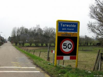 Terwolde is een dorp in de provincie Gelderland, in de streek Veluwe, gemeente Voorst.