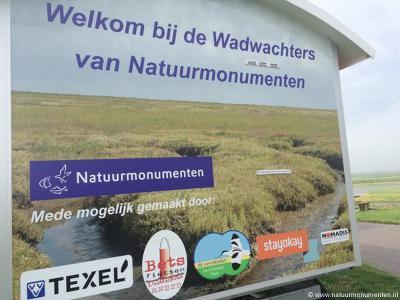 Op Texel hebben ze geen boswachters, maar wadwachters.