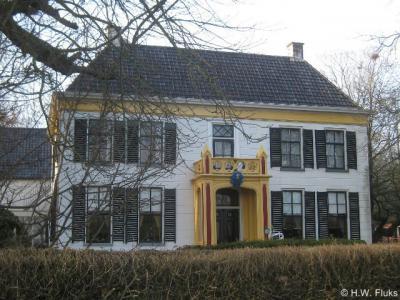 Tjamsweer, borg Ekenstein is het meest westelijke pand van dit dorp en van de gemeente Appingedam ter plekke.