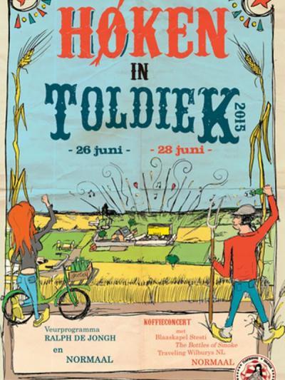 In een weekend in juni was er in Toldijk altijd het popfestival 'Høken in Toldiek'. In 2015 heeft Normaal hier voor het laatst gespeeld. Dat hebben ze hier 40 jaar lang altijd trouw gedaan, sinds 1975 dus.