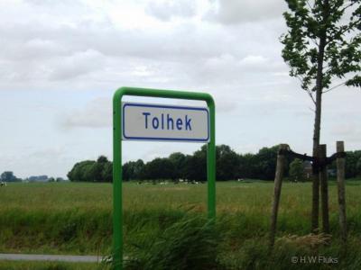 Tolhek is een buurtschap in de provincie Groningen, in de streken Westerkwartier en Middag-Humsterland, gemeente Westerkwartier. T/m 1989 gemeente Aduard. In 1990 over naar gemeente Zuidhorn, in 2019 over naar gemeente Westerkwartier.