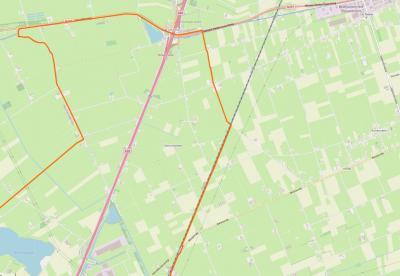 De buurtschap Tolhuislanden ligt in de NO uithoek van de gemeente Zwolle, en grenst in het Z aan bedrijventerrein Hessenpoort, in het W aan de A28, in het N aan de provinciale weg Hasselt - Coevorden (N377) en in het O aan de spoorlijn Zwolle - Meppel.