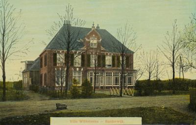 Het station e.o. viel ook nog onder Tonsel. Zoals bijv. Villa Wilhelmina nabij de spoorwegovergang, vermoedelijk op de hoek Stationslaan met de huidige Wilhelminalaan. Ansichtkaart uit ca. 1910.