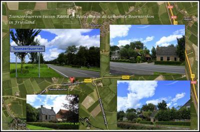 Nog een mooie collage van buurtschapsgezichten in Tsienzerbuorren (© Jan Dijkstra, Houten)