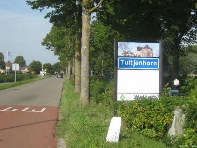 Tuitjenhorn is een dorp in de provincie Noord-Holland, in de streek West-Friesland, gemeente Schagen. T/m 2012 gemeente Harenkarspel.