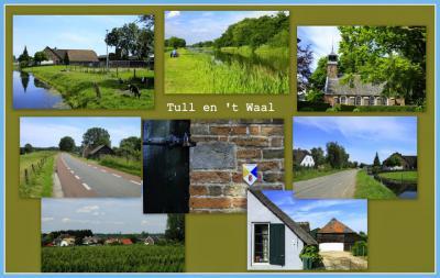 Tull en 't Waal, collage van dorpsgezichten (© Jan Dijkstra, Houten)