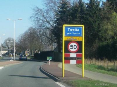 Twello is een dorp in de provincie Gelderland, in de streek Veluwe, gemeente Voorst. Het dorp viel vanouds reeds onder de gemeente Voorst, is in 1812 daarvan afgesplitst tot een zelfstandige gemeente, en in 1818 wederom opgegaan in de gemeente Voorst.