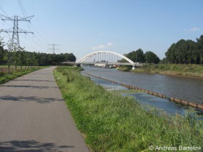 Een andere bekende waterloop in Twente is het Twentekanaal, hier ter hoogte van de Kanaalweg bij Goor