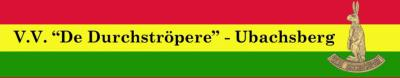 In Ubachsberg wordt het carnaval verzorgd door V.V. De Durchströpere. Huh? Door de voetbalvereniging? Nee natuurlijk niet! In Limburg betekent V.V. niet 'voetbalvereniging' maar 'vastelaovendsverein', oftewel carnavalsvereniging.