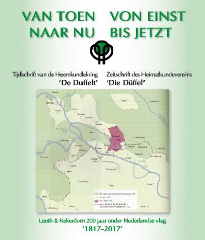 Bijzonder aan Heemkundekring De Duffelt is dat haar werkgebied de voormalige gemeente Ubbergen beslaat met omliggend gebied in Nederland en Duitsland. Internationaal dus!