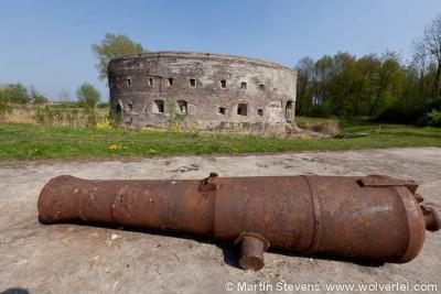 Fort Uitermeer in de gelijknamige buurtschap onder Weesp