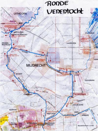 Kanoroute de Ronde Venentocht is een mooi rondje door het landelijke buitengebied ZO van Uithoorn, langs o.a. Mijdrecht, Wilnis, Woerdense Verlaat en De Hoef. De Uithoornse Roei- en Kanovereniging Michiel de Ruyter heeft er een mooi kaartje van gemaakt.