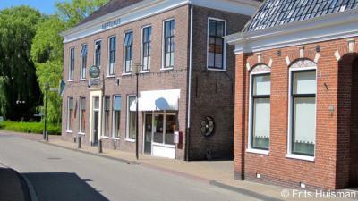 Ulrum, het rijksmonumentale Café Neptunus uit ca. 1875