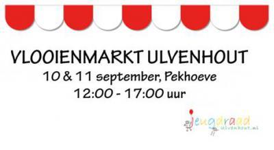 De grootse vlooienmarkt in Ulvenhout vindt plaats in het 2e weekend van september, alleen in de even jaren. De opbrengst is geheel voor de Ulvenhoutse verenigingen, die dat geld vooral aan hun jeugdleden ten goede laten komen.