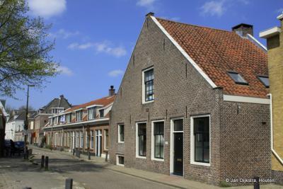 Utrecht, de Zonstraat, aan het riviertje de Minstroom, is sinds 2013 een beschermd stadsgezicht