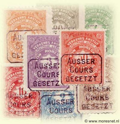 Het 'vierde land' bij het drielandenpunt te Vaals, Neutraal Moresnet, heeft in 1886 eigen postzegels uitgegeven. Deze zijn echter door België en Pruisen nooit erkend en zijn na twee weken al verboden verklaard en 'ausser cours gesetzt'.