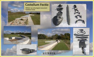 Ook het Romeinse Castellum Fectio, nabij Fort bij Vechten, is de afgelopen jaren weer zichtbaar gemaakt in het landschap. (© Jan Dijkstra, Houten)