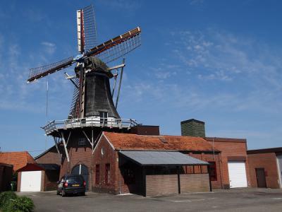 De prachtige Nieman's Meuln in Veelerveen van dichterbij gezien, anno 2016. (© Harry Perton / https://groninganus.wordpress.com)