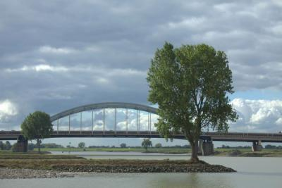 Velen hebben geijverd voor behoud en herbestemming van de oude Lekbrug uit 1936 in de A2 bij Vianen. In november 2018 is toch definitief besloten dat de brug gesloopt gaat worden. Zie verder het hoofdstuk Recente ontwikkelingen. (© Jan Dijkstra, Houten)
