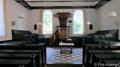 Vierhuizen, interieur Hervormde kerk