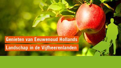 Dankzij Stichting Zuid-Hollands Landschap (www.zuidhollandslandschap.nl) valt er steeds meer te genieten van het eeuwenoude Hollandse landschap van de Vijfheerenlanden, omdat de organisatie regelmatig gebieden aankoopt en/of herstelt.