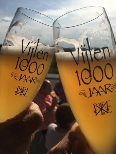 Vijlen wordt in 1016 voor het eerst in de archieven vermeld. De inwoners hebben in 2016 dan ook het 1.000-jarig bestaan van hun dorp uitbundig gevierd. Daar moest op gedronken worden, o.a. met een speciaal jubileumbier 'Hèllige Hendrik'!