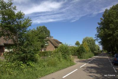 Het is nu nog rustig, zo begin juni op de Vinkenkade, maar dat zal veranderen als de vakantietijd is aangebroken.