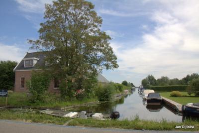 Water en veel bootjes, ja, je bent in Vinkeveen hè...